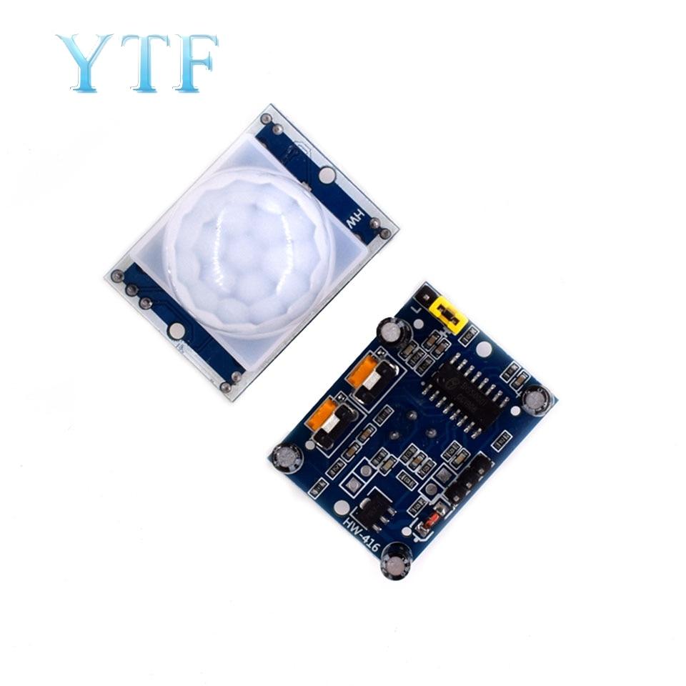 High Quality HC-SR501 Adjust Infrared PIR Motion Sensor Detector Module For  Raspberry Pi Or Arduino