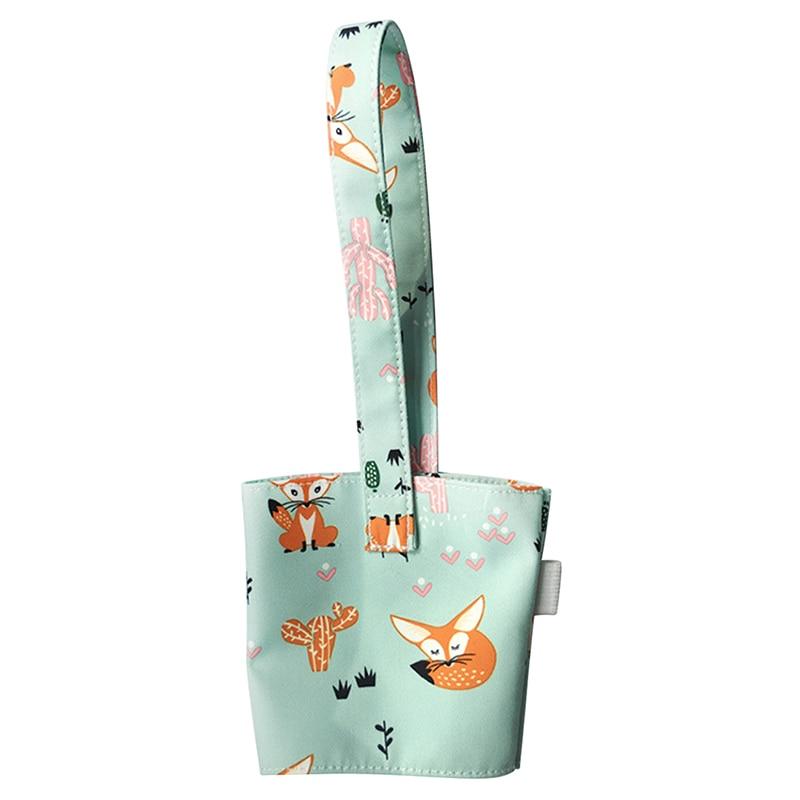 Портативная Сумка-переноска из чистого хлопка скатерть стаканчик Крышка для молока чай сок прекрасный без запаха маленькая подарочная сумочка бутылочные крышки Держатели - Цвет: A8