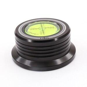 Image 2 - 1PC 3 en 1 50HZ LP 528 60HZ noir LP disque stabilisateur Stroboscope Gradienter avec barre de levier