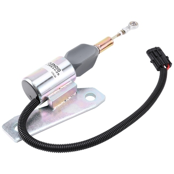 24V 3991625 Sa-4959-24 Fuel Shutoff Solenoid for Cummins Engine 6Bt 5.9L Hyundai R335-7 R200-5 R225-7 6Bt5.9