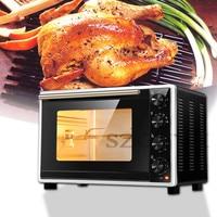 Horno eléctrico para el hogar de 1600W  horno eléctrico multifuncional para tarta de huevo para hornear pan  horno comercial Horizontal totalmente automático