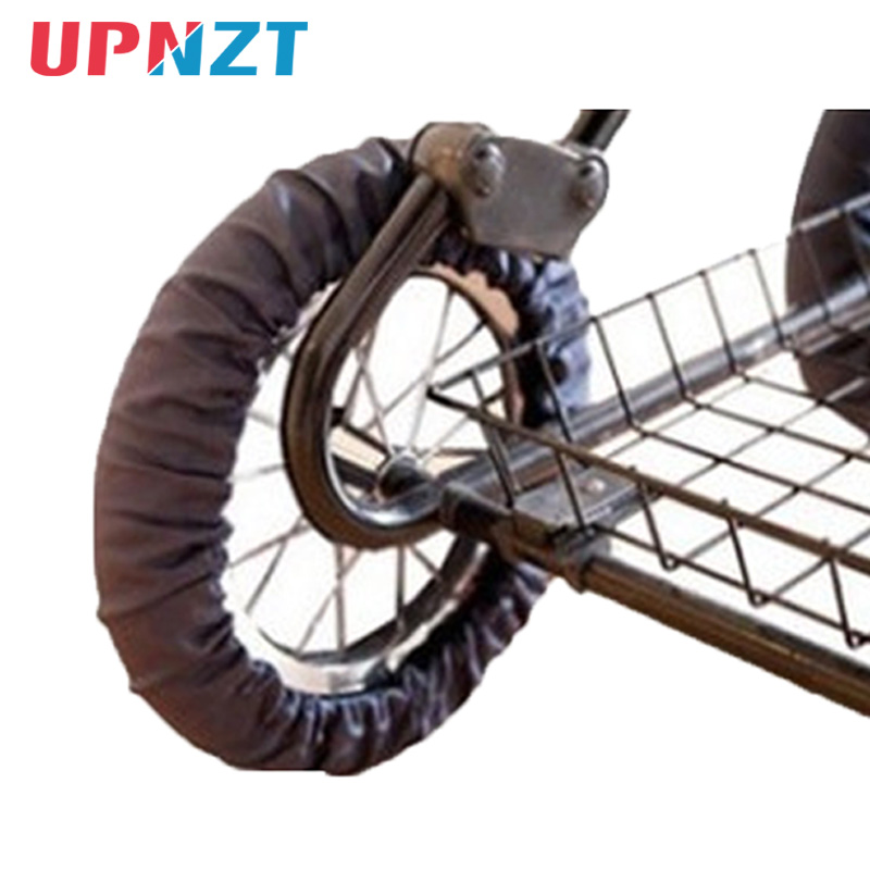 Stroller Accessories Dustproof Anti-Dirty Wheel Covers For Wheelchair Baby Carriage Pram Throne Pushchair Poussette