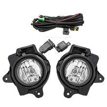 1 пара 12 в автомобильный противотуманный светильник для Toyota Hilux VIGO MK7 2012 2013 с реле жгута