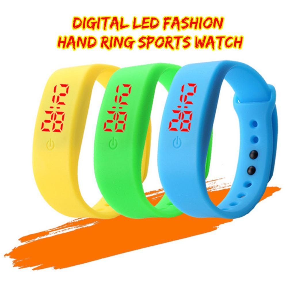 Child Watches New LED Digital Wrist Watch Bracelet Kids Outdoor Sports Watch For Boys Girls Electronic Date Clock Reloj Infantil