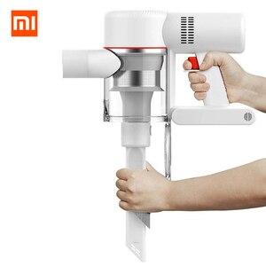 Image 3 - Plugue da ue xiaomi dreame v9 v9p aspirador de pó handheld vara sem fio aspirador 400 w 20000 pa de xiaomi youpin para casa carro