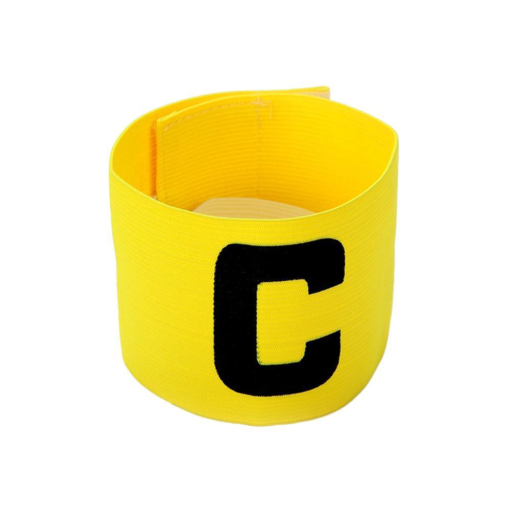 Tipo C forma brazalete pasta bobinado partido capitán brazalete pasta adhesiva para suministros de fútbol