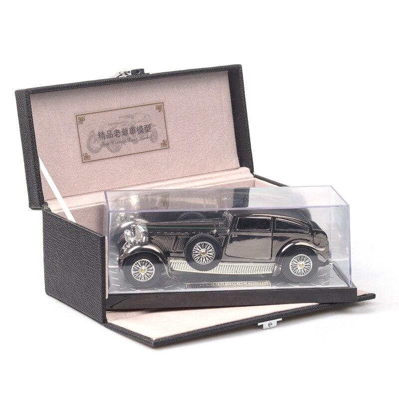 Offre spéciale 1:28 modèle de voiture classique modèle Antique jouer véhicules jouets décoration garçons jouets pour enfants cadeaux