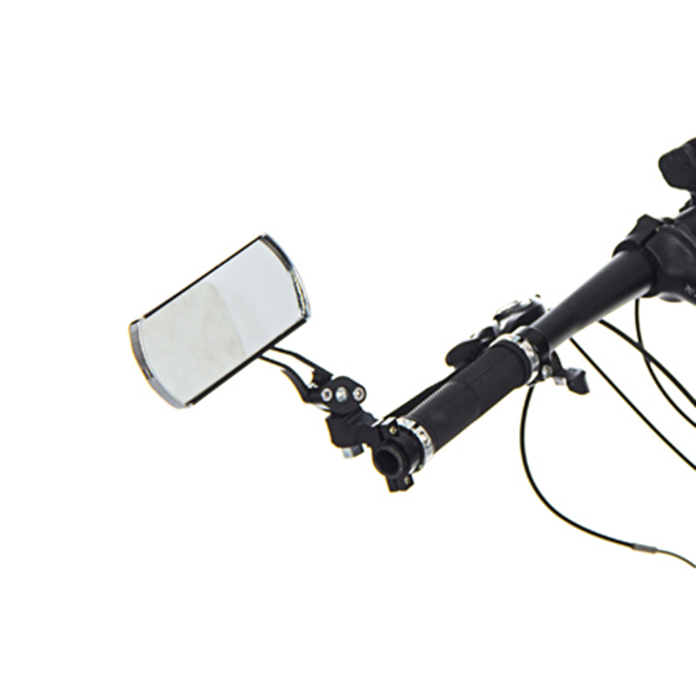 Bicycle Mirror 360 Degree Rotate MTB Road Bike Rearview Handlebar Mount Flexible Safety Cycling Back Mirror Folded Blind BC0124 (1)