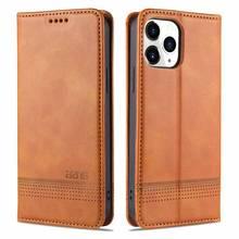 Flip Case iphone se için 2020 12 Mini 11 Pro Max x xs max xr 6 6s 7 8 artı çapa Funda lüks deri telefon coque kapak kabuk çanta