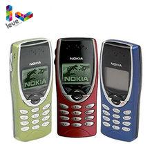 Utilisé Nokia 8210 GSM 900/1800 Support multi-langue débloqué téléphone portable reconditionné livraison gratuite