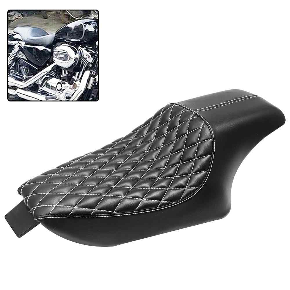 For Harley Driver Passenger Two-Up Seat Cushion Sportster 1200 883 2010-2017