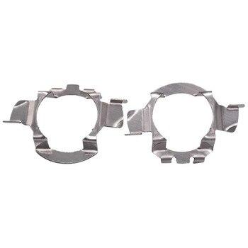 2 unids/lote H7 LED faro de coche Base soporte adaptador para mercedes-benz Audi Auto soporte de faro Stand #292695