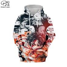 PLstar Cosmos One Piece Anime New Fashion Harajuku Tracksuit Casual 3D full Print Hoodie/Sweatshirt/Jacket/shirts Men Women S-2