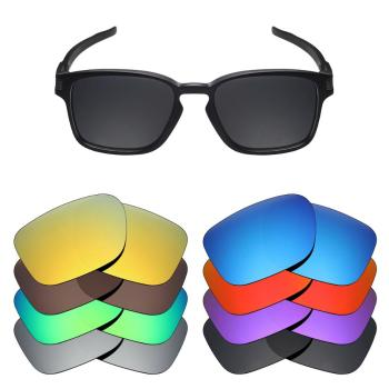 Mryok 20+ Color Choices Polarized Replacement Lenses for - Oakley Latch Sq Sunglasses Lenses(Lens Only) vonxyz multiple choices polarized replacement lenses for oakley latch sq oo9353 sunglasses