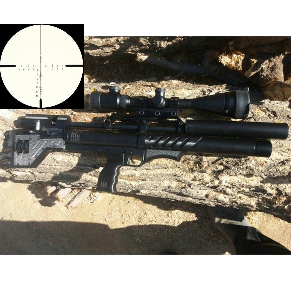 KANDAR 10x42 AOE Glass Reticle Red Illuminated RifleScope Fixed Magnification 10x Hunting Rifle Scope Tactical Optical Sight