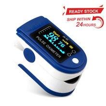 Novo portátil oxímetro de pulso oxímetro saturação de oxigênio no sangue spo2 monitor de freqüência cardíaca