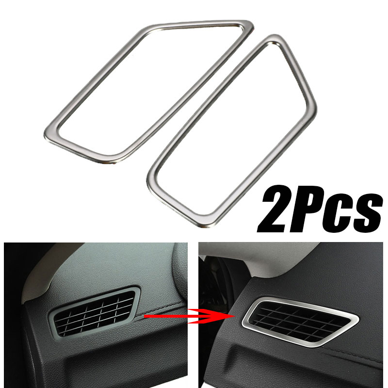 Car Dashboard Air Outlet Vent Cover Trim Frame Sticker For <font><b>Geely</b></font> <font><b>Atlas</b></font> <font><b>Boyue</b></font> Emgrand NL-3 Proton X70 2017 2018 2019 Accessories image
