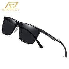 Simprect 2020 Алюминий Магний квадратные очки солнцезащитные