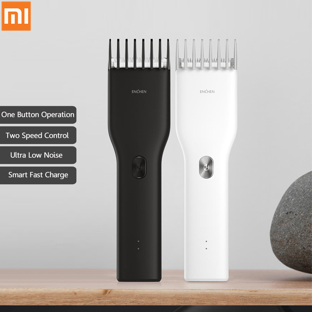 Boost USB Electric Hair Clipper Fast Charging Men Hair Trimmer Two Speed Ceramic Hair Cutter Rechargeable Children Hair Clipper