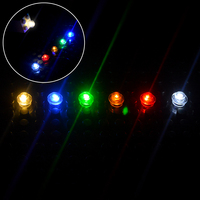 Bloques de construcción de ladrillo pequeño clásico, Mini lámparas LED de ciudad, caja de batería de lámpara única, Compatible con todas las marcas, emisor de luz USB