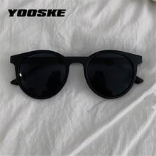 YOOSKE Runde Sonnenbrille Frauen Marke Designer Vintage Kleine Sonnenbrille Damen Koreanische Stil Shades Brillen