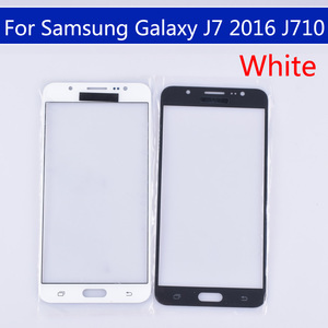 Image 2 - 10pcs\lot For Samsung Galaxy J7 2016 J710 J710F J710FN J710M J710MN J710H Touch Screen Outer Glass LCD Front TouchScreen Lens