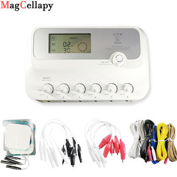 цена на 6 Channels Hwato SDZ III Low-Frequency Electro Acupuncture Stimulator Acupuncture Needle Treatment for Nerve and Muscle