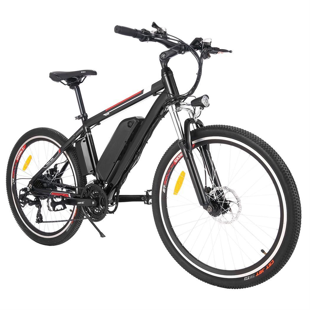25 inch Wheel Aluminum Alloy Frame Mountain Bike Cycling Bicycle Mens Mountain Bike Snow E-bike Electric Beach Bike