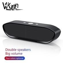 Портативная беспроводная Bluetooth колонка, стерео, большой мощности, MP3, Музыкальный Микрофон, сабвуфер, колонки для iPhone, компьютера, бас динамик, колонка
