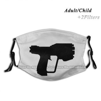 Pistol Reusable Mouth Face Mask Anti Haze Dustproof Mask With Filters For Child Adult The Master Chief Reach 1 3 Infinite Odst image