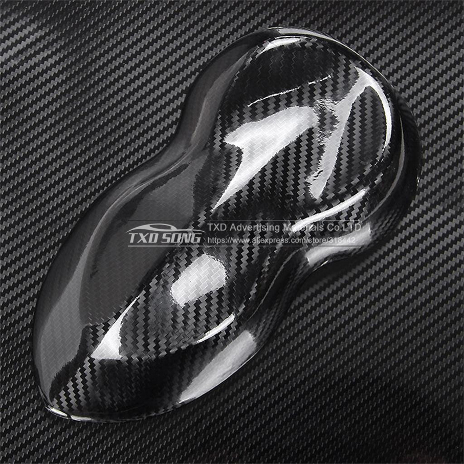 Image 5 - Ultra Gloss 5D Carbon Fiber Vinyl Wrap 3D Texture Super Glossy 5D Carbon Film With Size: 10/20/30/40/50/60x152cm-in Car Stickers from Automobiles & Motorcycles
