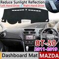 Для Mazda BT-50 UP UR 2011 ~ 2019 SDX Противоскользящий коврик  накладка на приборную панель  Солнцезащитный коврик  автомобильные аксессуары  коврик 2012 ...