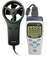 Anemômetro anemométrico da velocidade do ar do medidor da velocidade do ar de TM 411 20 5050c|Instrumentos de temperatura| |  -