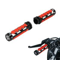 Motorcycle 1 Hand Grips Handle bar For Harley Touring Road Glide Sportster XL1200 883 Dyna VRSC Chopper Springer Softail FXSTS