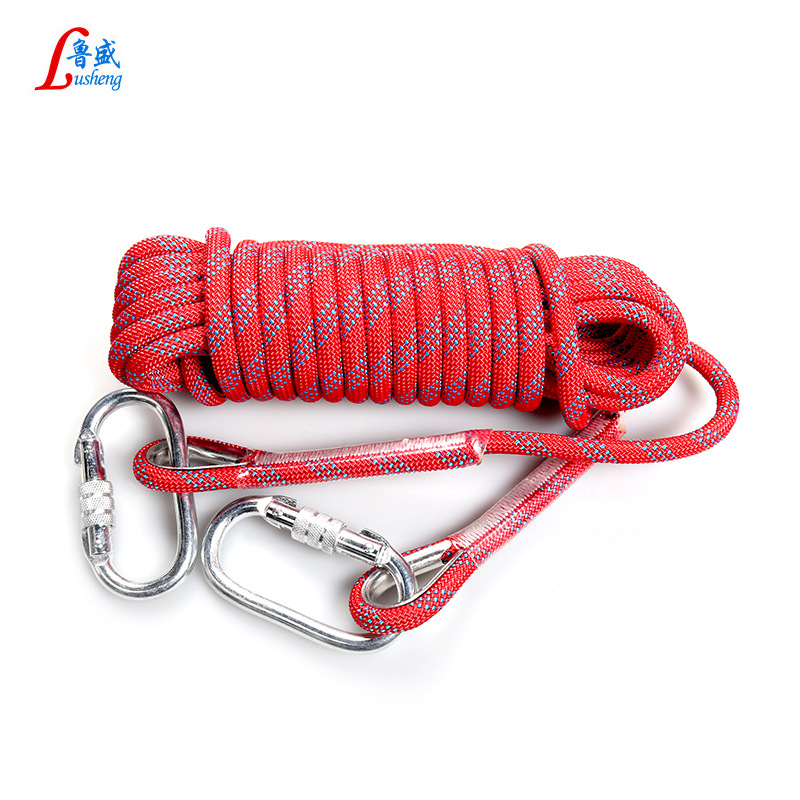 Safe Rope High Altitude Homework Stainless Steel Outdoor Climbing Rope Climbing Rope Lifesaving Rope Rescue Rope Downhill Rope