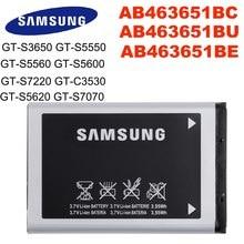 Batterie d'origine pour SAMSUNG GT-S3650 S5550 S5560 S5600 S5620 S7070 S7220 C3530, 960mAh, AB463651BC AB463651BE AB463651BU