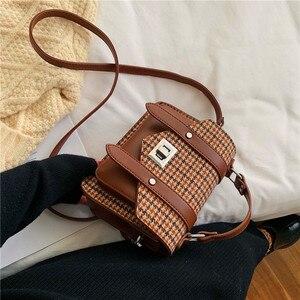 Image 3 - Модные женские сумки, сумка тоут из искусственной кожи с кисточками, сумка через плечо с вышивкой и верхней ручкой, сумка на плечо, Женские Простые Стильные ручные сумки
