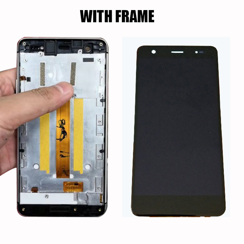 5.5inch 100% Test Ok For Highscreen Fest XL Highscreen Fest XL PRO Black LCD Display With Touch Screen Digitizer Assembly