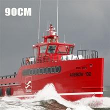 90センチメートルdiy海斧船のモデルセットシミュレーションリモートコントロール誕生日ギフト
