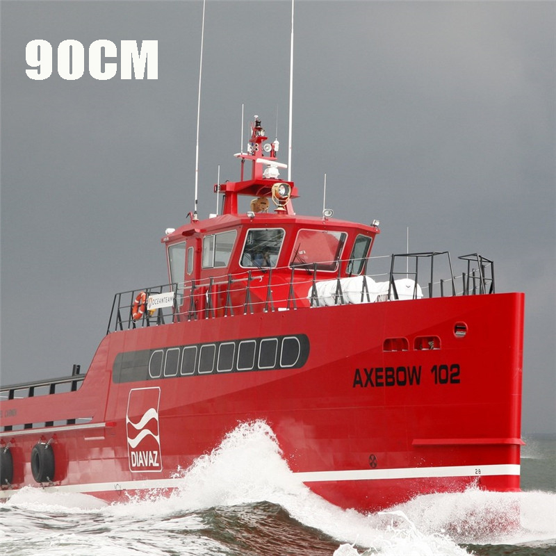 90cm DIY Sea Axe Ship Model Set Simulation Remote Control For Birthday Gift