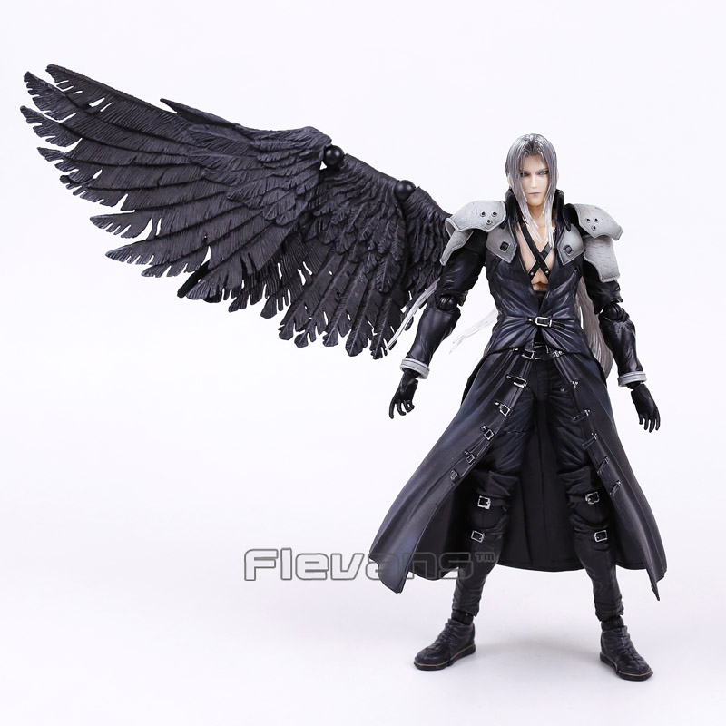 Paly Arts Kai <font><b>Final</b></font> <font><b>Fantasy</b></font> VII <font><b>7</b></font> Sephiroth PVC Action Figure Collectible Model Toy image