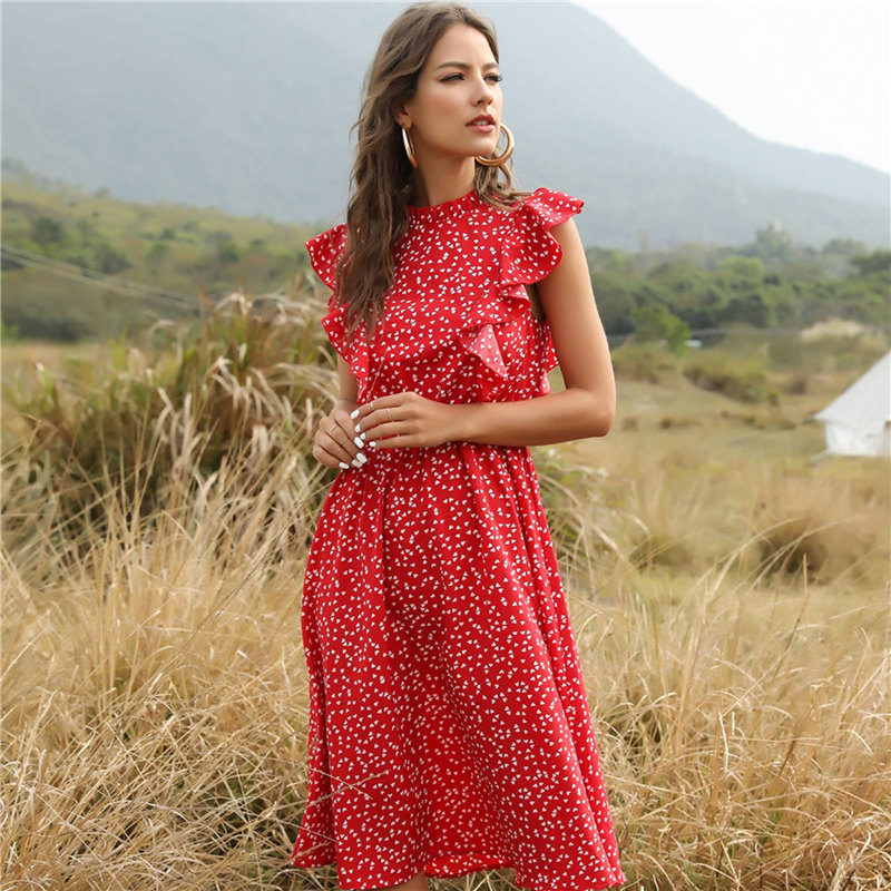 2021 New Summer Women Dress