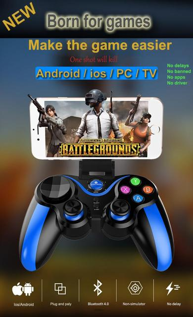 Pro Ios & Android Wireless Bluetooth Gamepad Mobile Games Controller For Pubg For IPhone HUAWEI XIAOMI Android 6