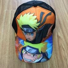 Hat Naruto Sun-Cap Girls Boys Summer Anime Snapback of Casual Cosplay for Uzumaki Peaked