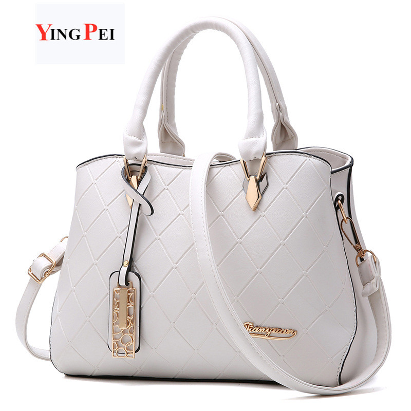 Women Bag Fashion Casual Women's Handbags Luxury Handbag Designer Shoulder Bags New Bags For Women 2020 White Simulation Leather