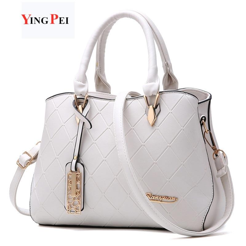 Women Bag Fashion Casual Women's Handbags Luxury Handbag Designer Shoulder Bags New Bags For Women 2019 Bolsos Mujer Black White