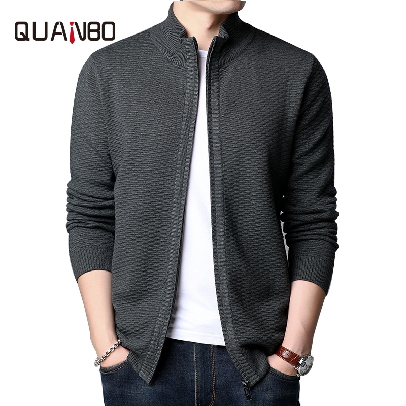 2020 new fashion brand sweaters jacket men cardigan coats winter thick slim fit Jumpers Knitwear Korean Style Casual Clothing