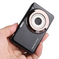 24MP Compact Colorful Optical Zoom Face Detection Video Record High Definition Gifts Lithium Battery Kids Digital Camera Photo