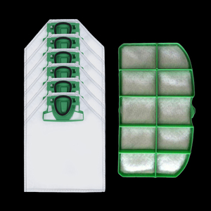 7pcs Dust Bags Filter Set For