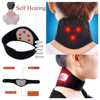 1 pcs new neck belt self-heating lining magnetotherapy Wrapping paper Protective neck strip Support massage belt for healthcare